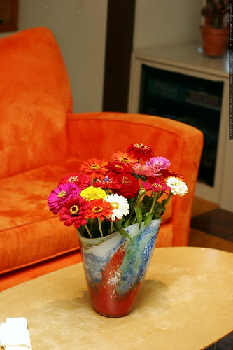 zinnia bouquet    MG 2899