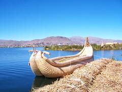 Boot der Uros