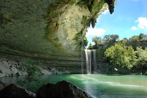 usa nature pool beautiful swimming austin landscape waterfall texas hole hamilton most dri utatafeature