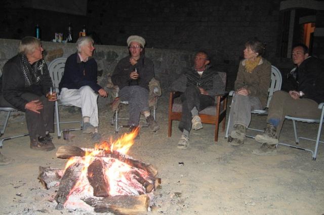 Campfire at Phander