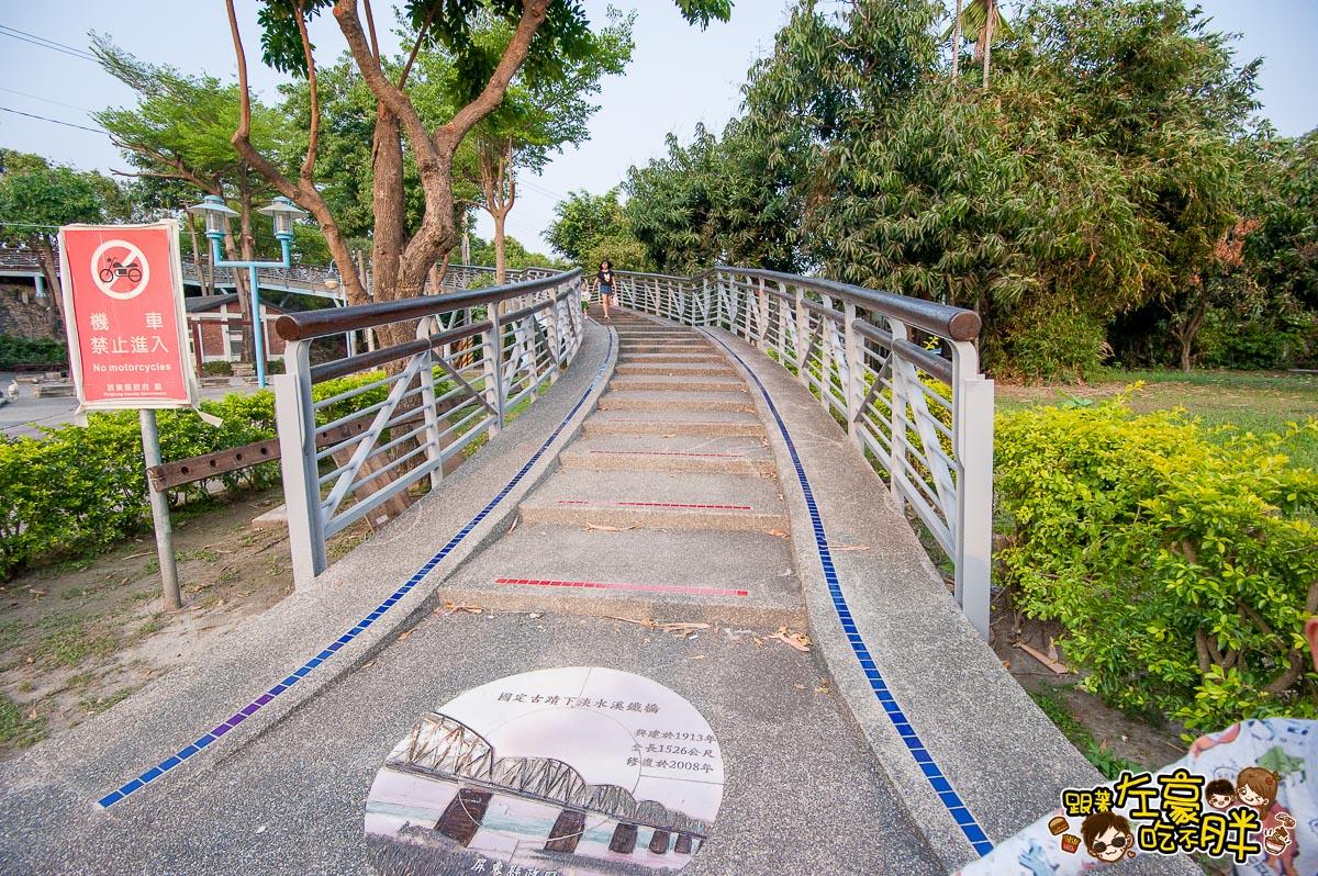 舊鐵橋(屏東端)花海-3