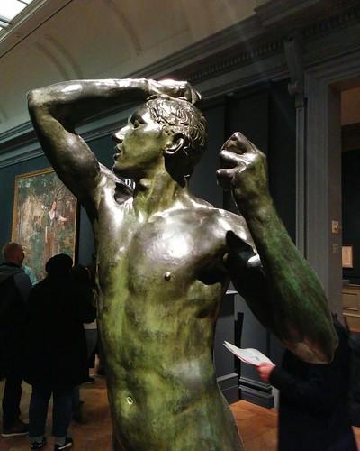 The Age of Bronze #newyorkcity #newyork #manhattan #metmuseum #sculoture #rodin #bronze #latergram