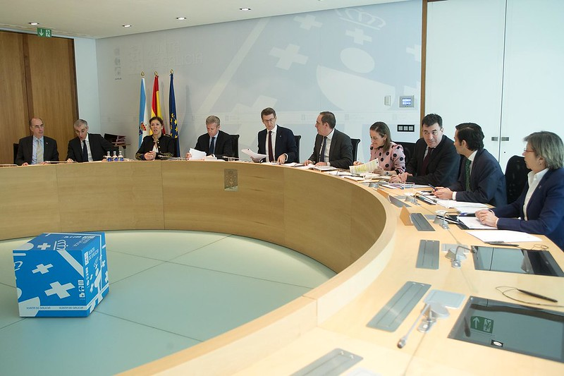 Plan de banda larga en 181 concellos galegos