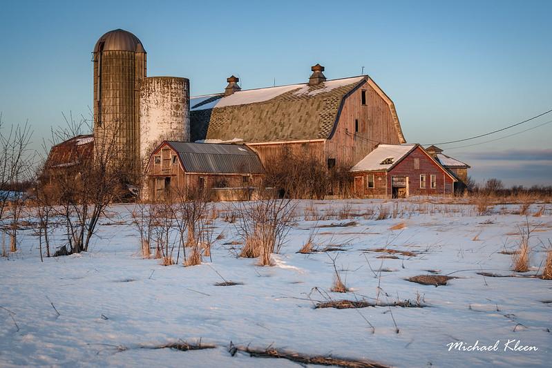 Route 37 Barn at Morning