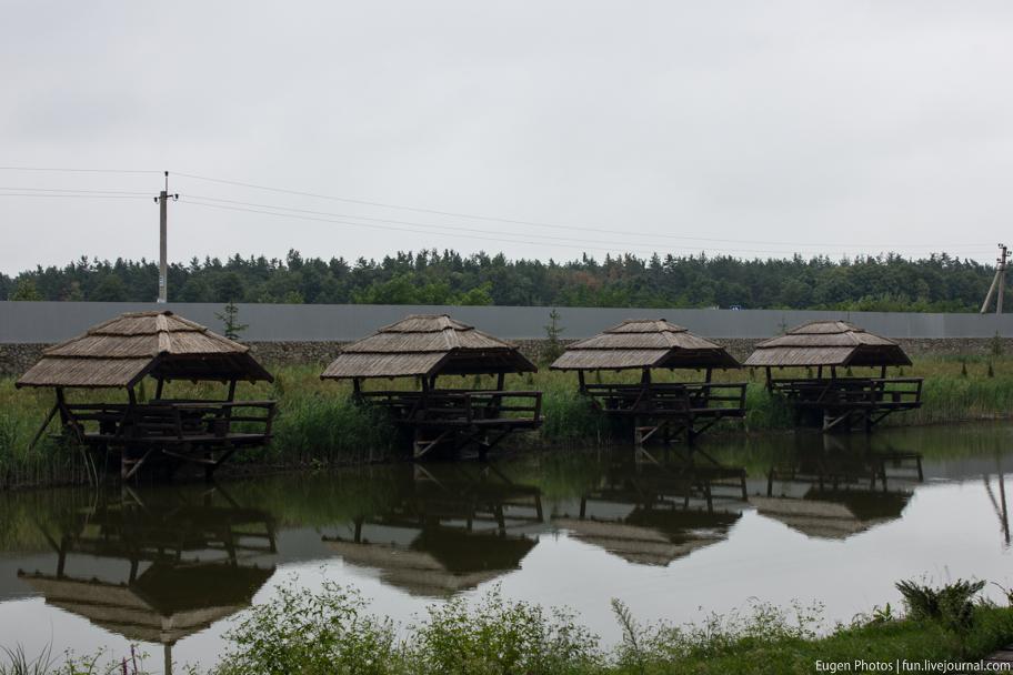 Край-рай: озеро