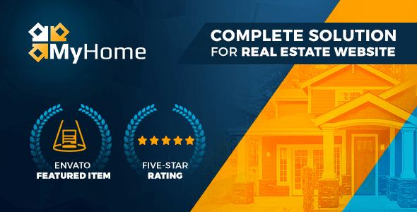 MyHome v3.1.4 – Real Estate WordPress Theme