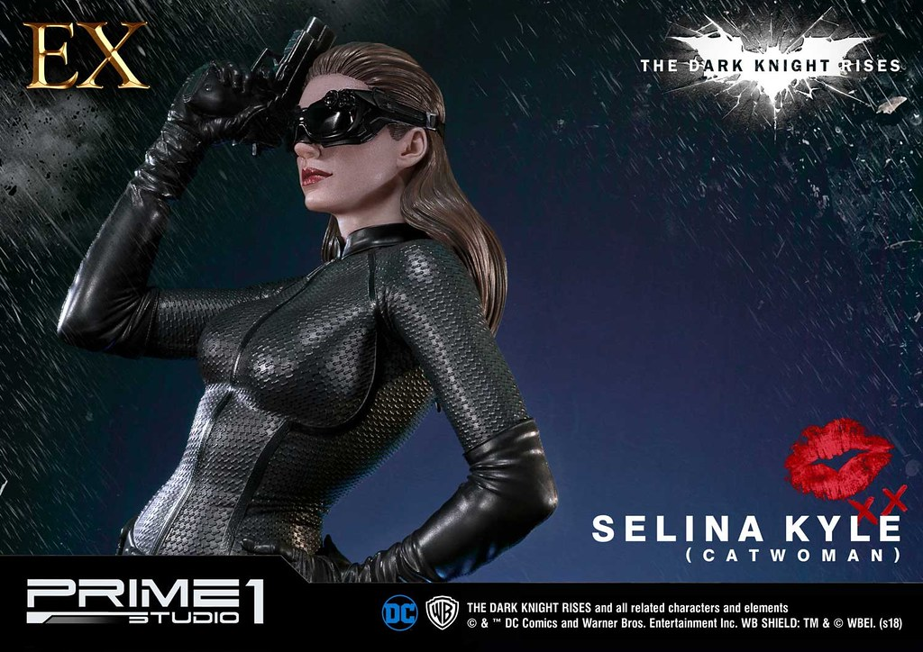 Prime 1 Studio《黑暗騎士:黎明升起》瑟琳娜‧凱爾(貓女)セリーナ・カイル(キャットウーマン)MMTDKR-01EX 1/3 比例全身雕像作品