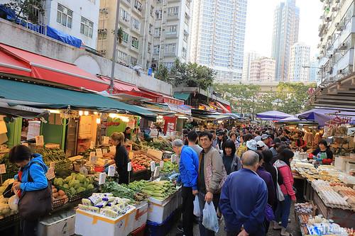 Kam Wa Street Wet Market
