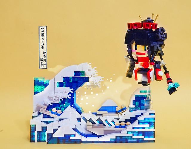 FGO character: Katsushika Hokusai