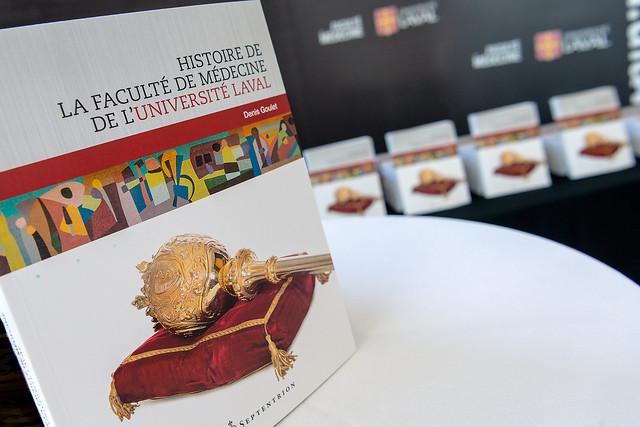 Lancement du livre Histoire de la Faculté de médecine de l'Université Laval