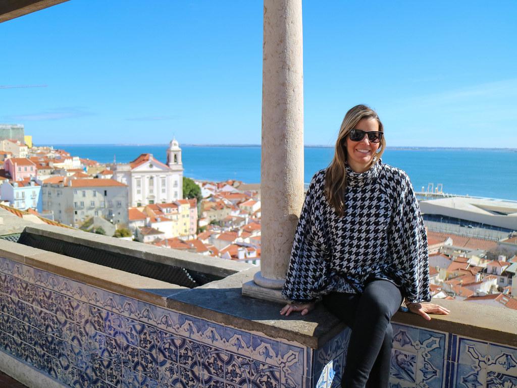 Mirador Santa Luzia en Lisboa