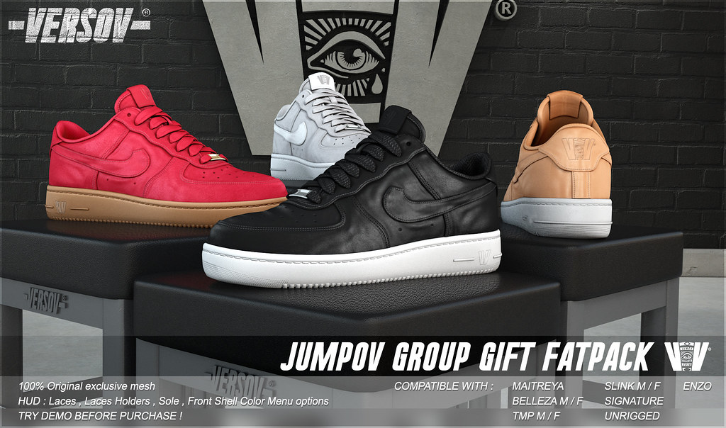 [ VERSOV ] JUMPOV !! GROUP GIFT !! Updated and totally FREE !!!