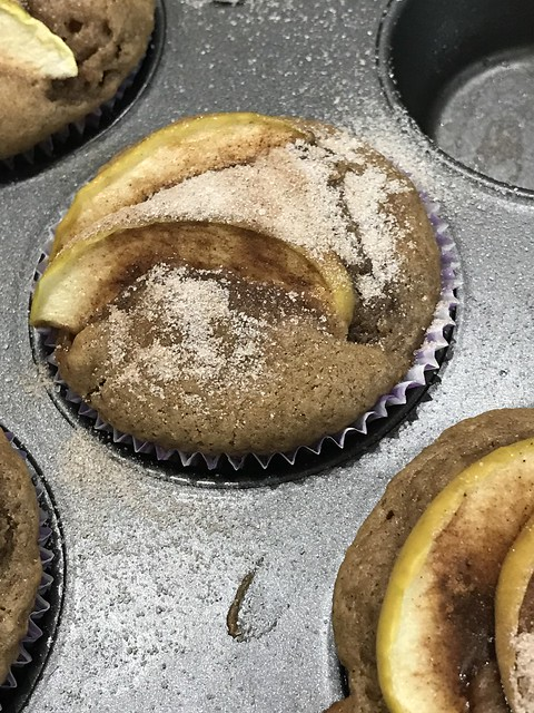 Dairy-Free Apple Muffins