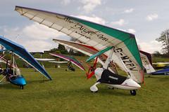 G-MZPW Solar Wings Pegasus [6892] Popham 020509
