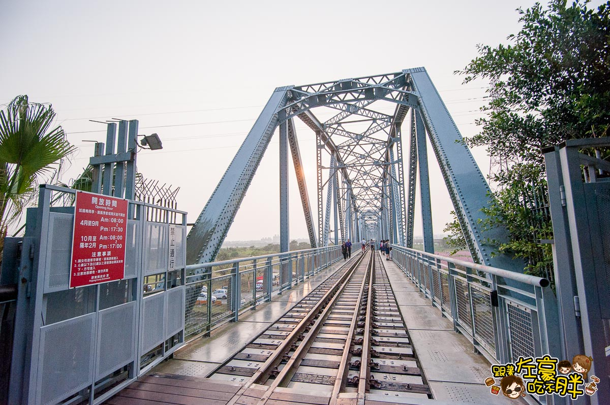 舊鐵橋(屏東端)花海-34
