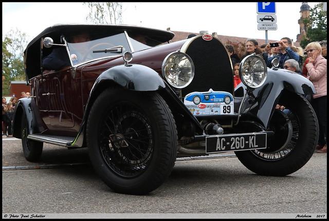 Bugatti Type44 Tourer 1929 Molsheim septembre 2017