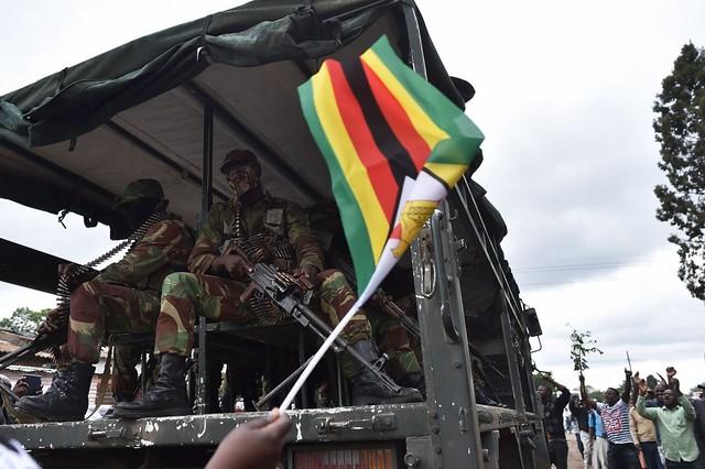 Zimbabwe tells Robert Mugabe to go! Solidarity March, 18 Nov 2017