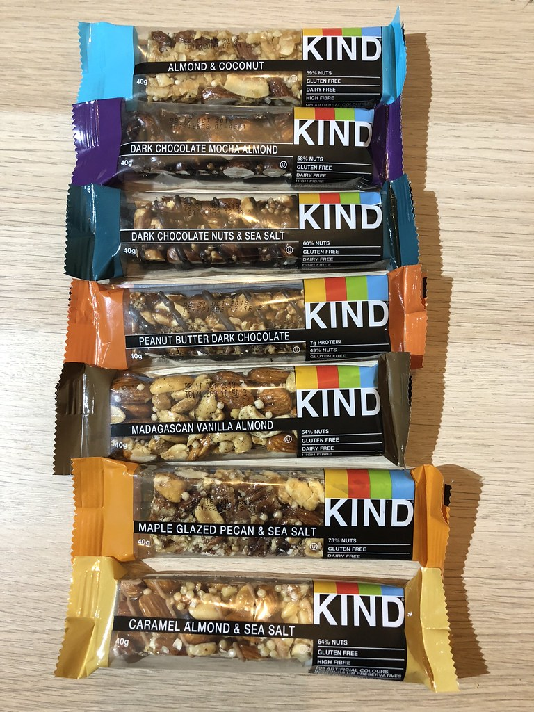 Full selection of KIND BARS