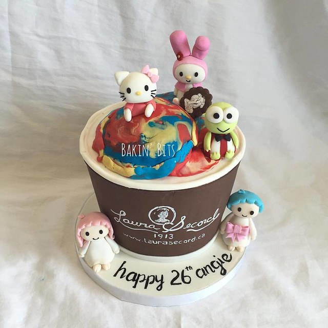 Laura Secord Super Kid Ice Cream Cake by Bakin' Bits