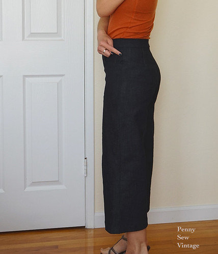 wide leg cropped pants - m7445