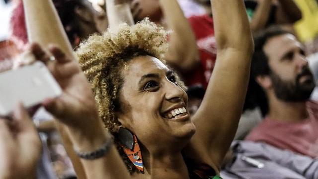 Marielle atuava em defesa dos direitos humanos de negros e negras, denunciando o genocídio de jovens em favelas - Créditos: Divulgação/PSOL
