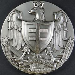 Kupolski medal obverse