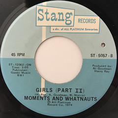MOMENTS AND WHATNAUTS:GIRLS(LABEL SIDE-B)