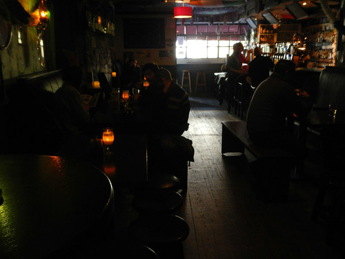Interior of the Salthouse, a craft beer pub in Galway, Ireland