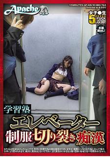 AP-528 Learning Cram School Elevator Uniforms Riot