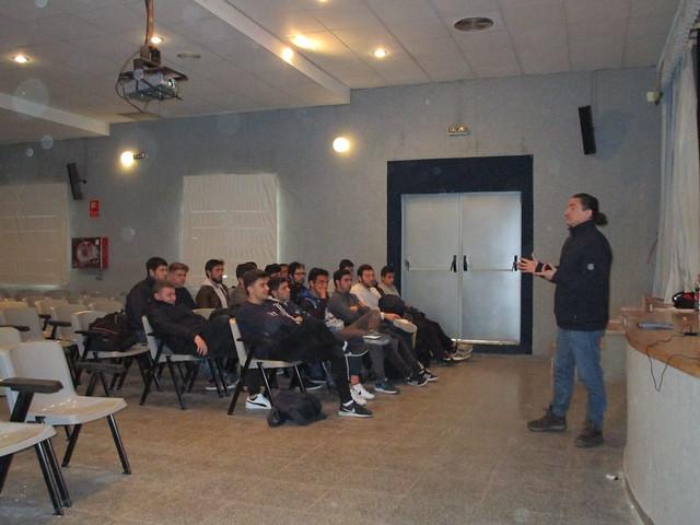 Nos visita Javier Talavera, entrenador - 2018