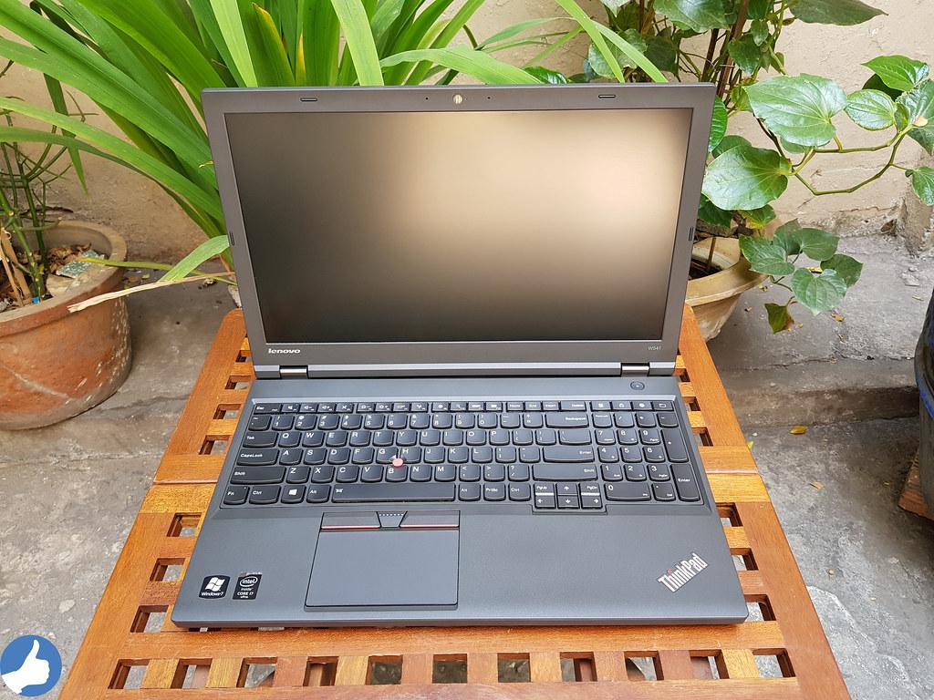 Ngoại hình đậm chất ThinkPad của W541