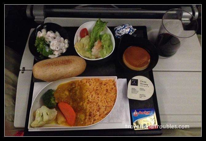 Rijst met kip in citroensaus - Turkish Airlines
