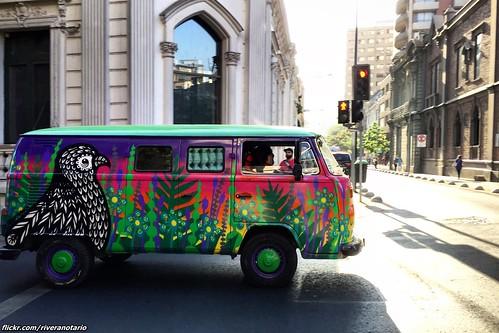 VW Kombi - Santiago, Chile