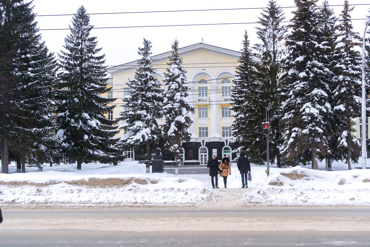 Центр Уфы зимой фото _DSC0183
