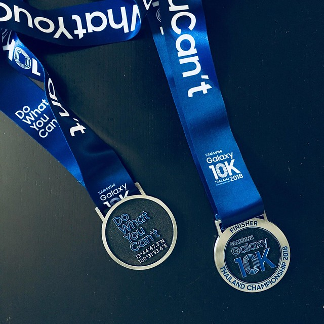 10k Thailand Championship 2018 medals