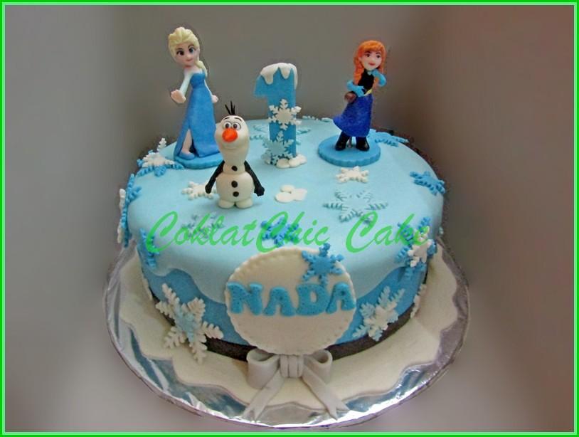 Cake Disney Frozen NADA 22 cm