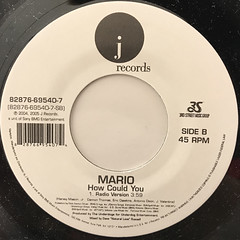 MARIO:LET ME LOVE YOU(LABEL SIDE-B)