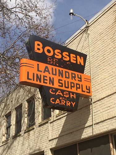 BOSSEN LAUNDRY SUPPLY MARYSVILLE CA.