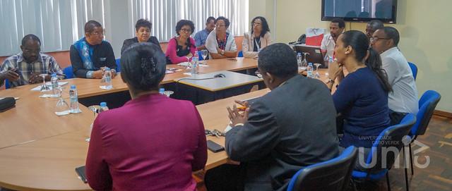 Delegação do PAICV visitou a Uni-CV