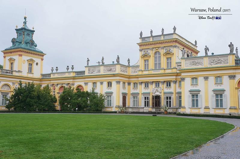2017 Europe Warsaw Wilanów Palace 02