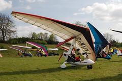 G-MWYJ Solar Wings Pegasus [SW-WQT-0489] Popham 020509