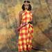 DSC_1174 Stony Traditional Cultural Kenyan Cloth Costume with Beaded Headdress and Maasai Hunting Knife Photo Shoot Shoreditch Studio London