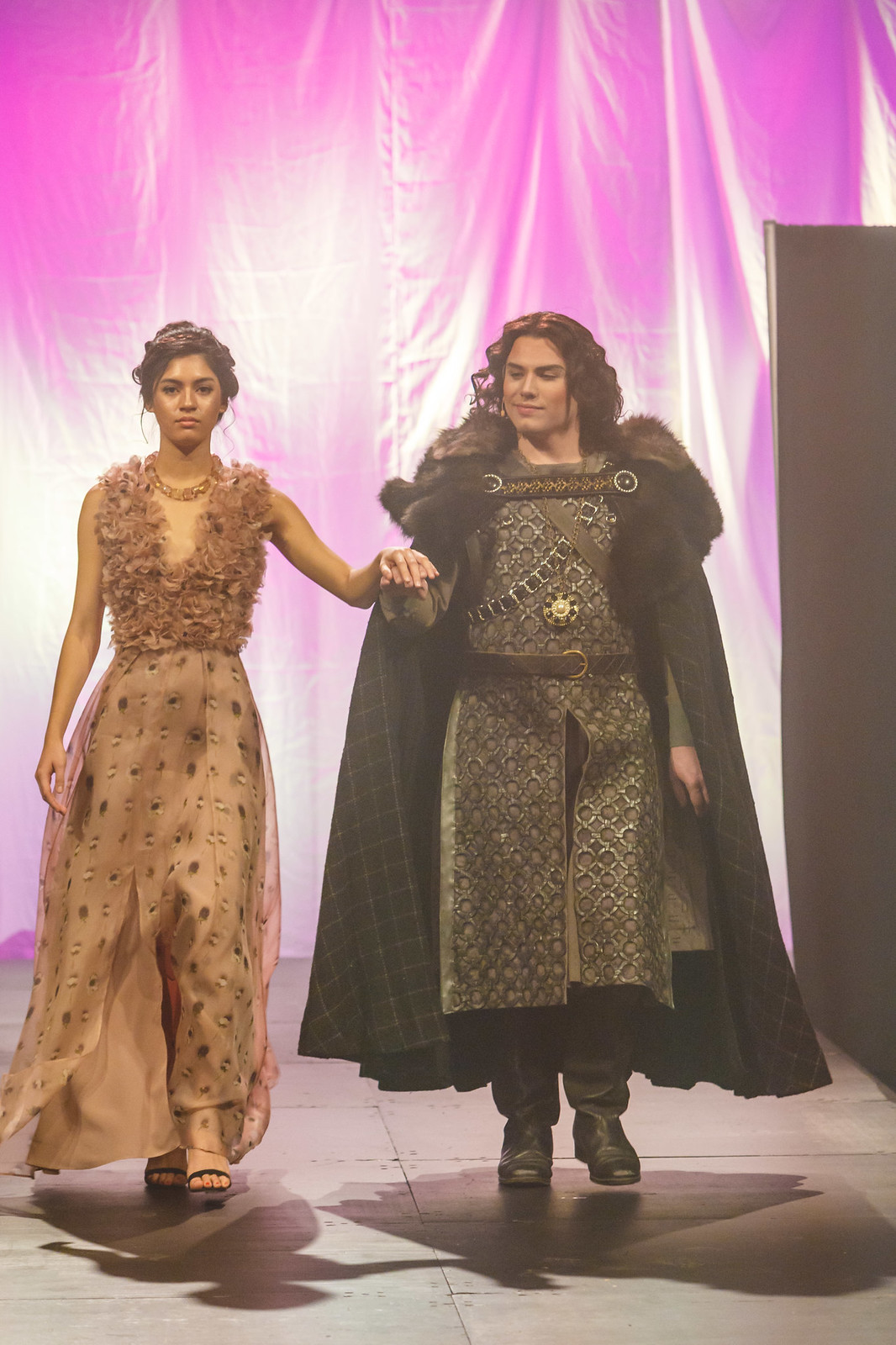 A Song Of Thrones Fashion Show, Charlotte Fedun, Eric Ferring