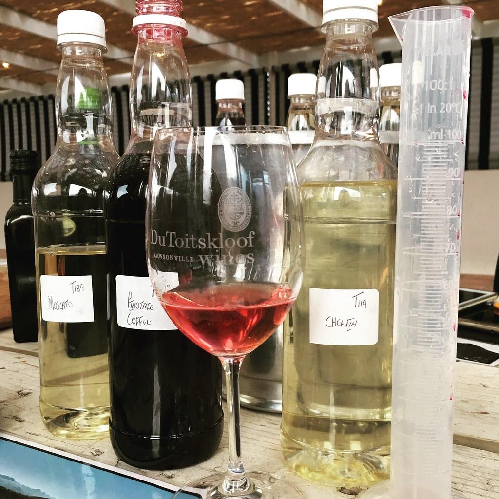 Wine blending