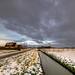 Dutch winter landscape.