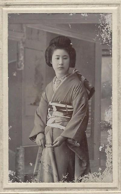 CDV by S. Kato, Japan (1900's)