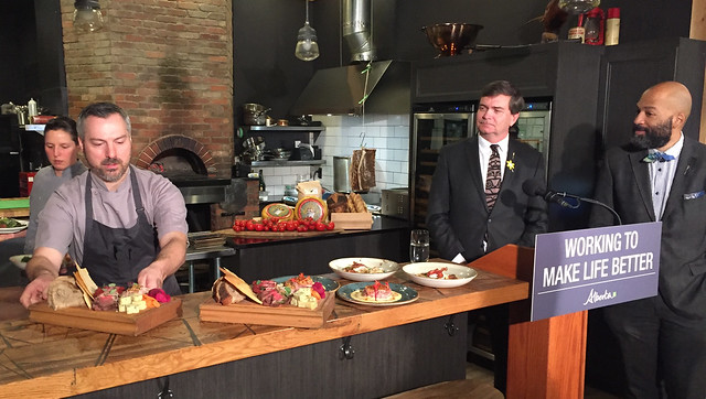 Alberta tables support for local food