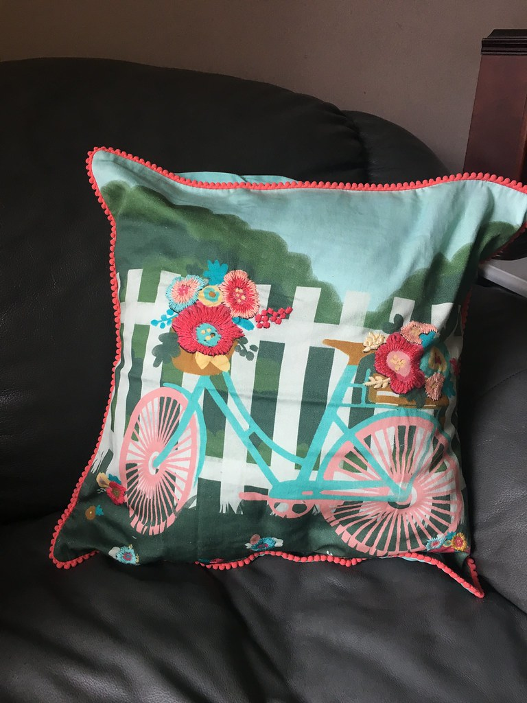 matilda jane bike pillow cover