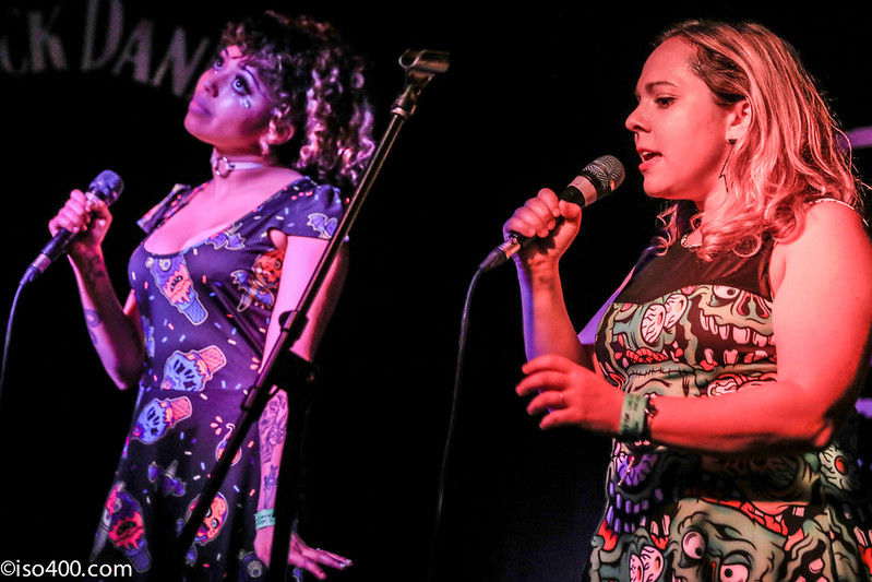 Daphne and Celeste at the Brighton Hope 30th Mar 2018 pic by mike burnell-1787