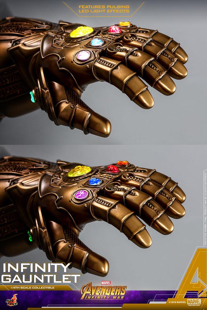 Hot Toys - ACS003 - 《復仇者聯盟:無限之戰》1/4 比例 無限手套 Avengers: Infinity War 1/4th scale Infinity Gauntlet